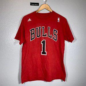 Adidas Derrick Rose Chicago Bulls Jersey Tee
